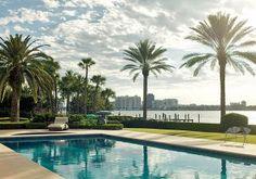 Beach Pool by Aman & Carson in Palm Beach, Florida