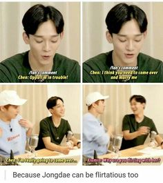 Well I don't mind him flirting tho