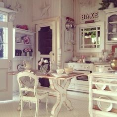 shabby kitchen country love