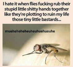 Yup. Hate those dirty devils