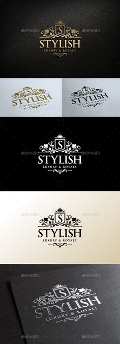 Stylish Logo Template #design #logotype Download: http://graphicriver.net/item/stylish-logo/11144626?ref=ksioks