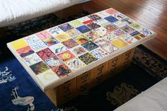 Perfect for a Periodic Table of Elements on the Tiles!