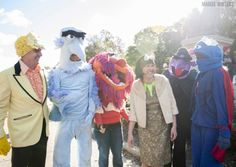 A Million Puppet March wedding in DC | Offbeat Bride