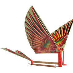 46d65af85d9 1 Pc Creative DIY Rubber Band Power Bionic Air Plane Ornithopter Birds  Models Kite Toy