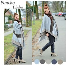 #Poncho #Outfit #autumn #Look #fashion #fashionblog   See more on: http://annanikabu.com/ganz-grosse-poncho-liebe/