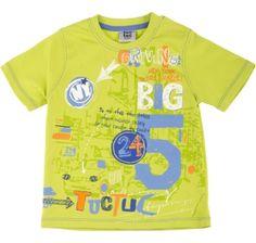 T-shirt pistacho driving driving, para menino - tuc tuc