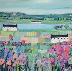 SOLD Janet Bell - Across the Straits - Janet Bell Gallery