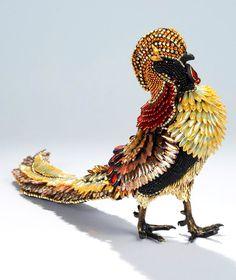 Wonderful beads art by Nancy Josephson. Must see!