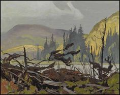 """""""Beaver Meadow Near Foymount,"""" A.J. Casson, oil on board, 12 x 15"""", private collection."""