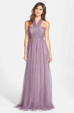 Flowy Lilac Bridesmaid Dresses
