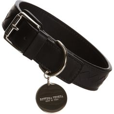 Bottega Veneta Medium Intrecciato Collar (755 BRL) ❤ liked on Polyvore featuring pets, dog and jewelry