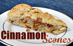 Cinnamon Scones Recipe a must try for me yummy for Christmas yummy warm delicious scones