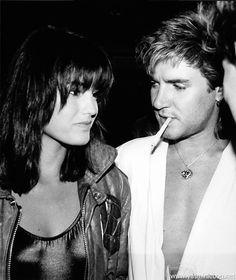 Simon & Yasmin Le Bon - 1984