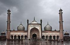 Mezquita Jama Mashid (Delhi)  by Jesus Sánches Ibáñez