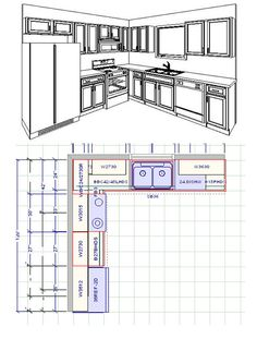 kitchen cabinets design layout Makeover your Kitchen with ...