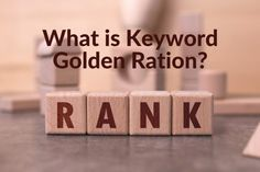 Golden Ration, Search Engine Optimization, Seo, Place Card Holders