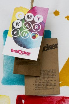 Teelocker T-shirts by Karen Kurycki, via Behance