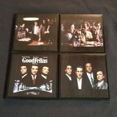 Our new Goodfellas coaster set .. part of of TV & Movie Series
