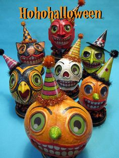 Paper Mache luminarias by the man himself...Jorge de Rojas
