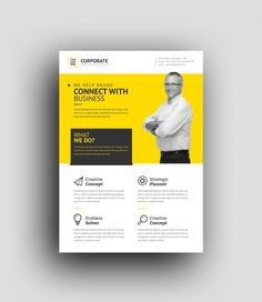 Zephyrus Modern Professional Corporate Flyer Template 001037
