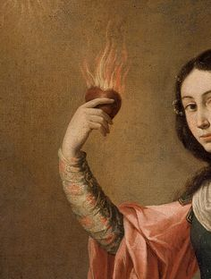 Francisco de Zurbaran, Allegory of Charity (detail) 1656 Art And Illustration, Illustrations, Art Rouge, Renaissance Kunst, Arte Obscura, Old Paintings, Classical Art, Old Art, Religious Art