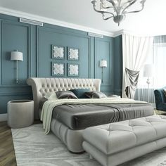 Discover the Ultimate Master Bedroom Styles and Inspirations Bedroom Bed Design, Home Room Design, Modern Bedroom Design, Contemporary Bedroom, Home Decor Bedroom, Modern Bedroom Furniture, Luxury Furniture, Furniture Makers, Bedroom Layouts