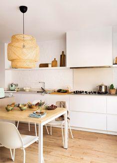 IKEA pendant lamp in urban oasis recently featured in el mueble. / sfgirlbybay