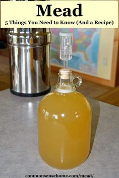 Mead may be the world's oldest alcoholic beverage. Many modern versions are just for enjoyment, but we'll show you why (and how) to brew old school mead. Homebrew Recipes, Wine Recipes, Mead Alcohol, Fun Drinks, Alcoholic Drinks, Cocktails, Honey Mead, Mead Wine, How To Make Mead
