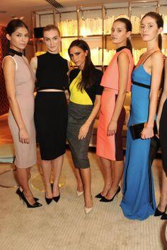 Beautiful models tonight @Selfridges.com London, launching accessories x vb pic.twitter.com/oHBWSKdQNI