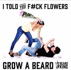 Easy thing to do is grow a beard