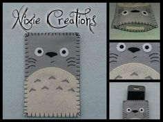 Cell phone case Tonari No Totoro - Studio Ghibli inspired