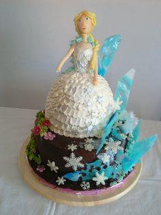 Elsa, Frozen cake
