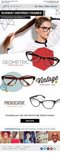 Zenni Optical - Zenni Fashion week