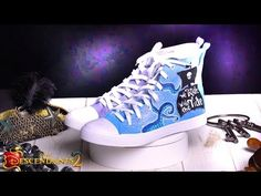 VK Shoes Tutorial: Mal & Uma | DIY | Descendants 2 - YouTube