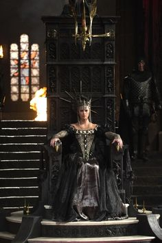 Charlize Theron as the Queen in Snow White and the Huntsman from UNIVERSAL PICTURES
