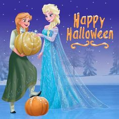 Halloween + Frozen = Magic