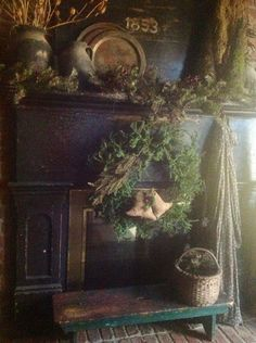 Carolyn Thompson Primitives Home Tour By The Hearth