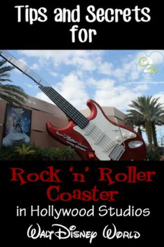 Rock 'n' Roller Coaster in Hollywood Studios is a dark coaster that launches you from 0 to 60 miles per hour in just 2.8 seconds on a high speed ride in a super-stretch limo while you jam to custom tracks from Aerosmith.I road it once and NEVER AGAIN!
