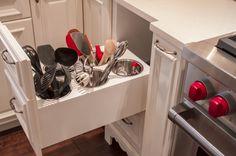 Kitchen Utensil Organization Cabinet