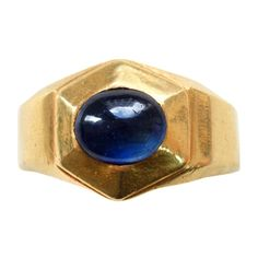 Rare Medieval Sapphire and Gold Ring Rare Medieval Sapphire and Gold Ring Antique Rings, Antique Gold, Antique Jewelry, Vintage Rings, Medieval Jewelry, Ancient Jewelry, Mens Ring Designs, Lazuli, Diamond Anniversary