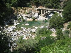 The Yuba River.  Just out of Nevada City, CA