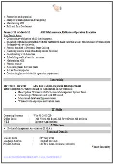 Mba finance fresher resume template 2 career for Technical bulletin template word