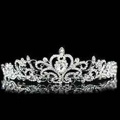 Gorgeous Austria Rhinestones Wedding Bridal Tiara – USD $ 33.19