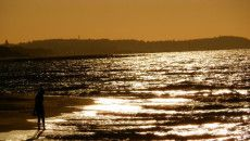 Zachód słońca nad Bałtykiem (Kontakt Meteo/Monika Szulak). http://tvnmeteo.tvn24.pl/foto/zachod-slonca-nad-baltykiem-kontakt-meteomonika-szulak,28,39724,1.html