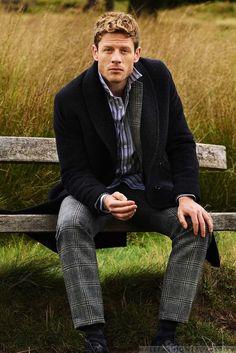 Male Fashion Trends: James Norton por Mark Kean para The Journal de Mr. Porter