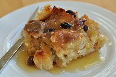 A simple bread-based dessert popular in many countries served with tea, or custard or ice cream. Bread #pudding is a show stopper in its own right!