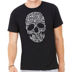 """All you favorite styes of beer on this BrewerShirts Craft Beer Skull, part of our """"Respect Craft"""" artists series #craftbeer #homebrew #beershirt"""