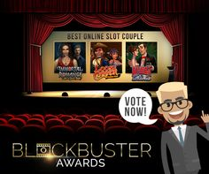Blockbuster Awards now at Major Tom Casino
