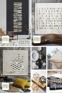 Zen Chic's Modern Background Luster in stores now - Rhinetex
