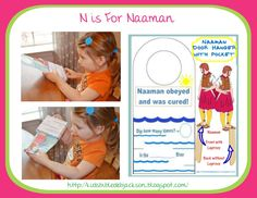 Bible Fun For Kids: Preschool Alphabet: N is for Naaman